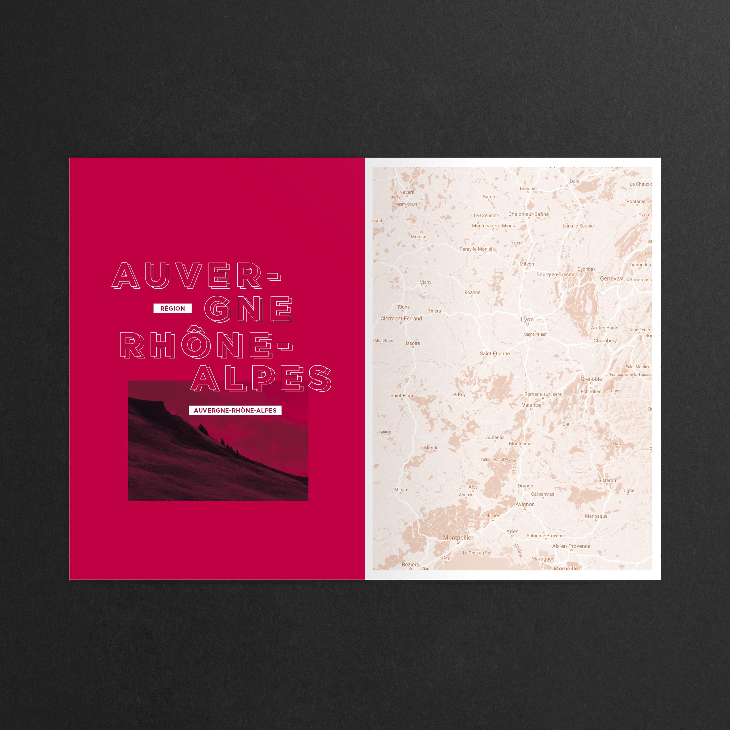 Design graphique et éditorial du livre Cheffes.