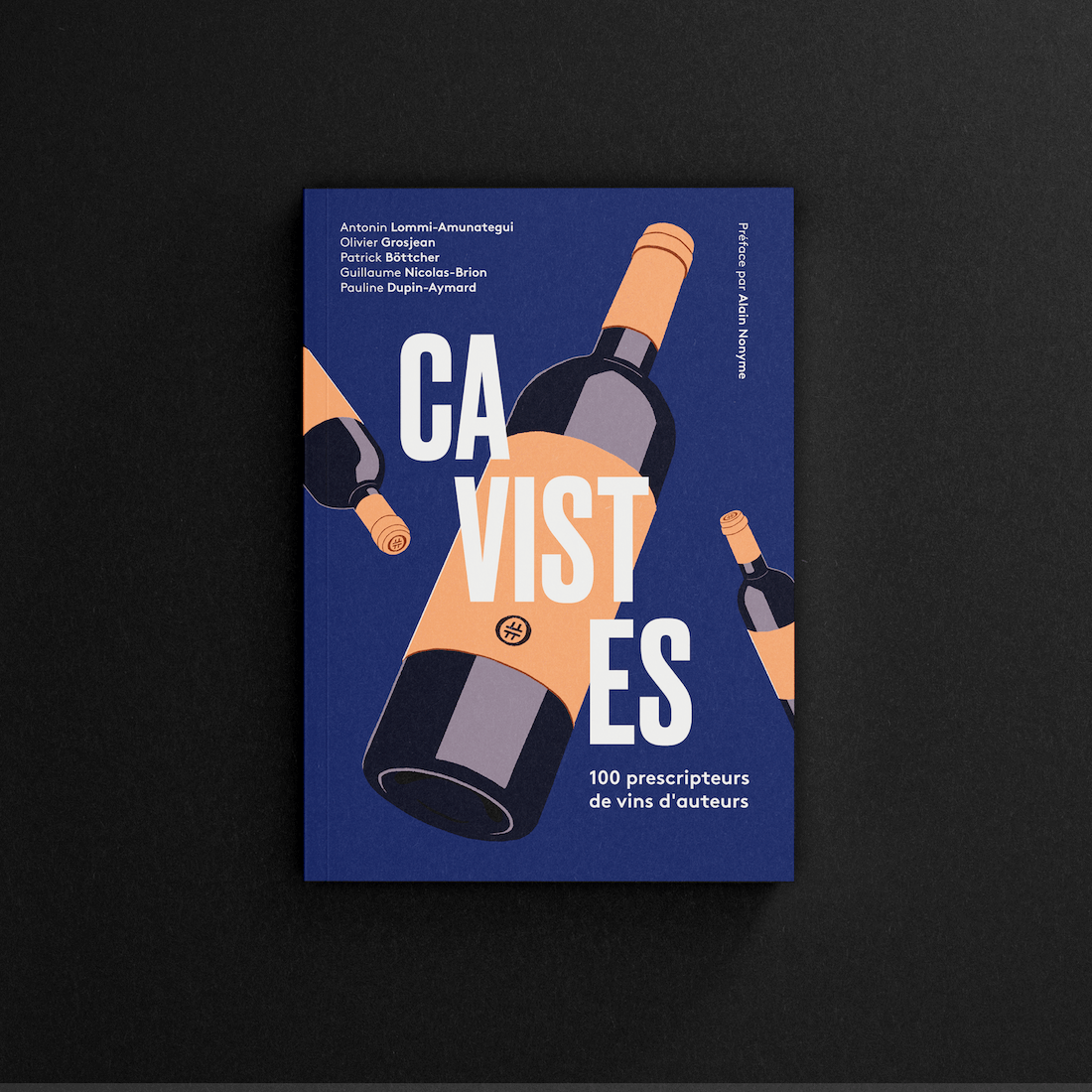 Photo de couverture du livre caviste