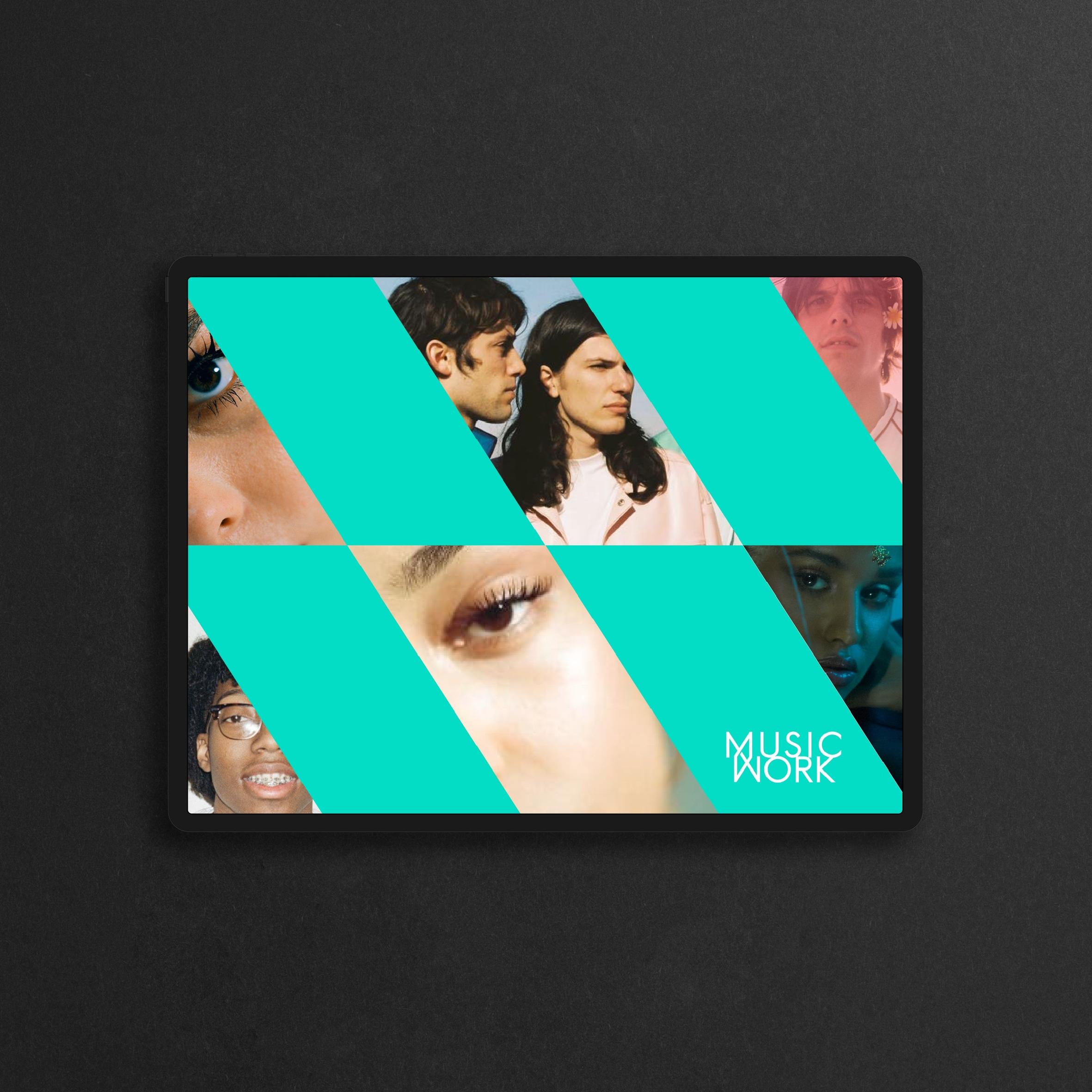 ux ui app music work page 9
