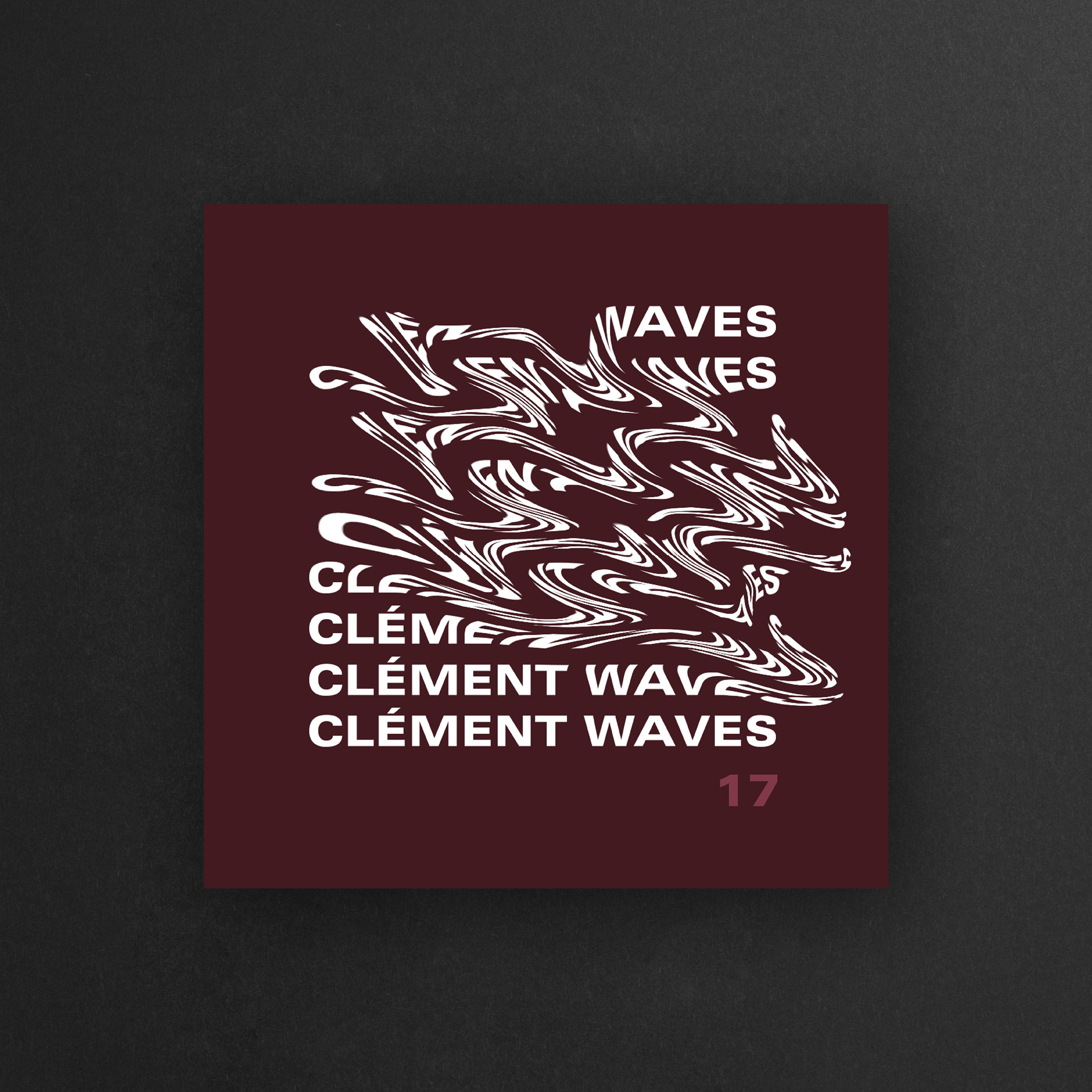 Photo des Artworks pour les covers des mix de Clement Aswf