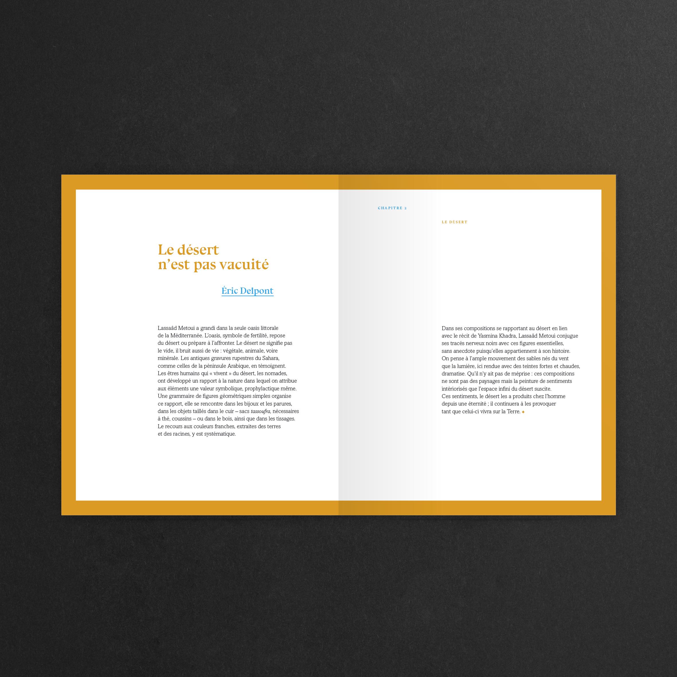 Design graphique et éditorial du livre Le Pinceau ivre