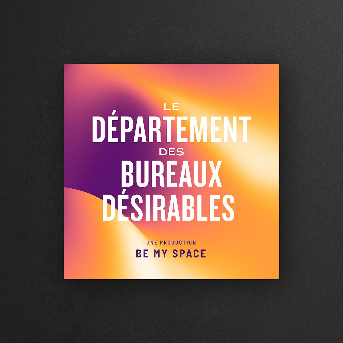 Photo d'un artwork pour les covers des podcasts de Be My Space