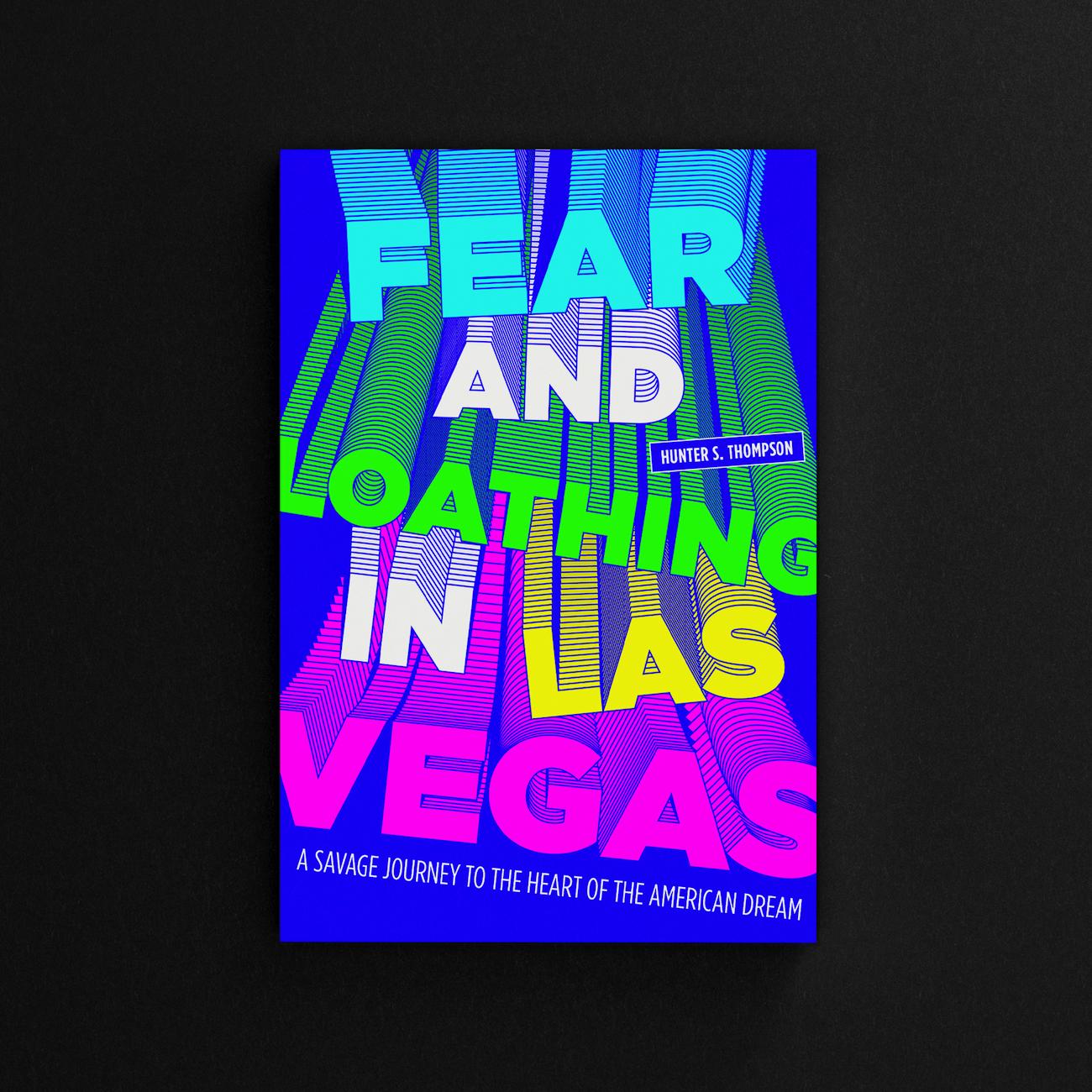 Photo de l'affiche pour le roman « Paris brûle-t-il ? » de Hunter S. Thompson. Série de posters littéraires, 03.