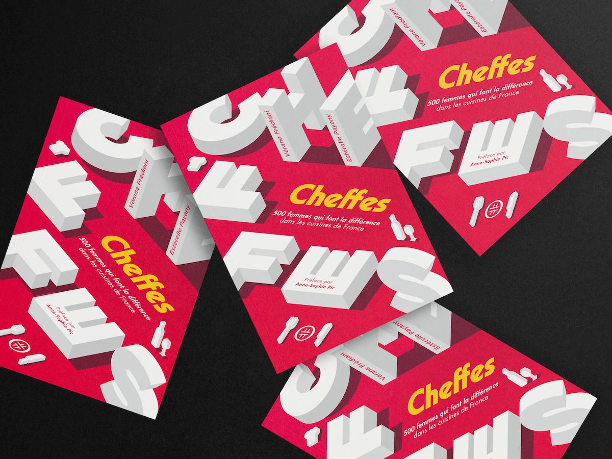 cheffes couverture design graphique editorial